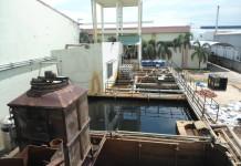 Bể xử lý nước thải sinh hoạt