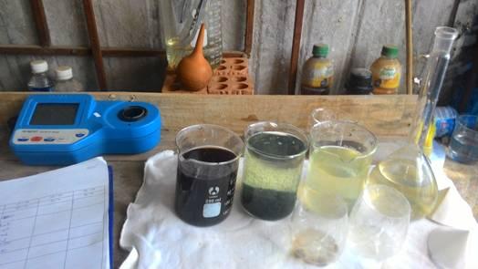 Vận hành hệ thống xử lý nước thải dệt nhuộm-nuoc thai det nhuom