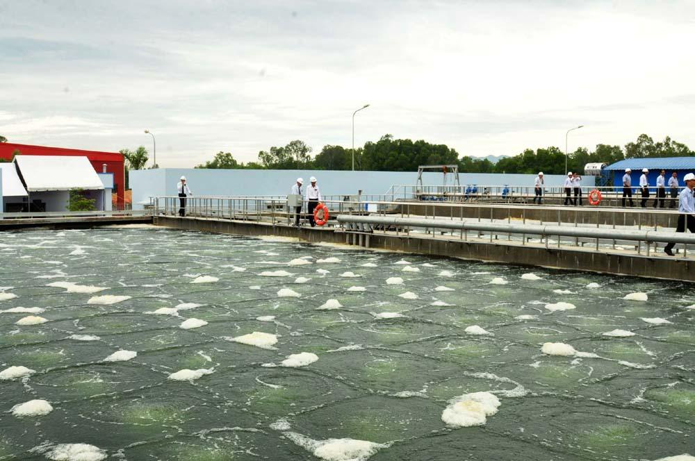Xử lý nước thải nhà máy sản xuất nệm mousse