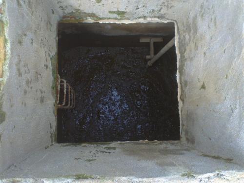 Bùn thải dạng lỏng
