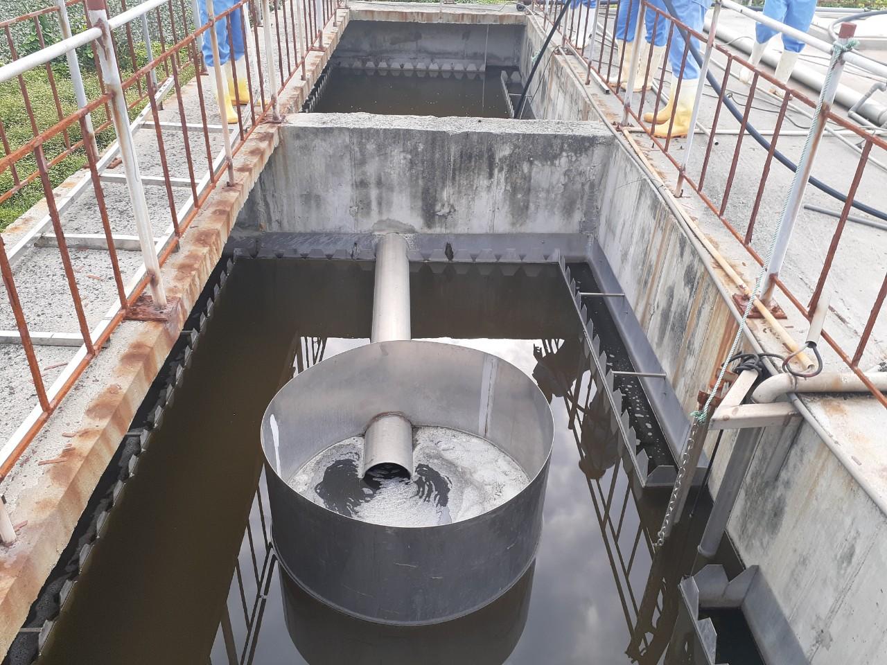 Xử lý nước thải chăn nuôi heo tại Hòa Phát