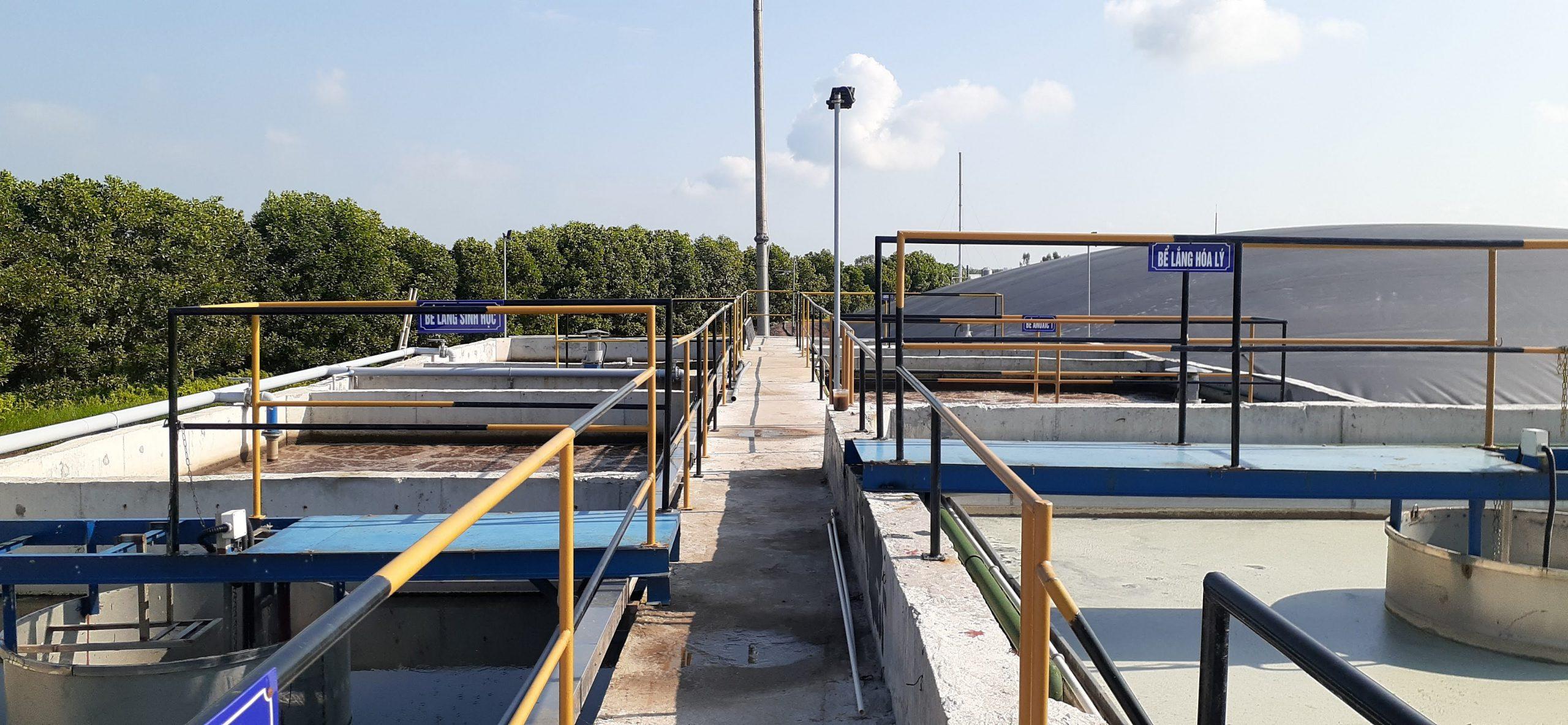 Hình 3. Hệ thống xử lý nước thải chăn nuôi công suất 500 m3/ngày