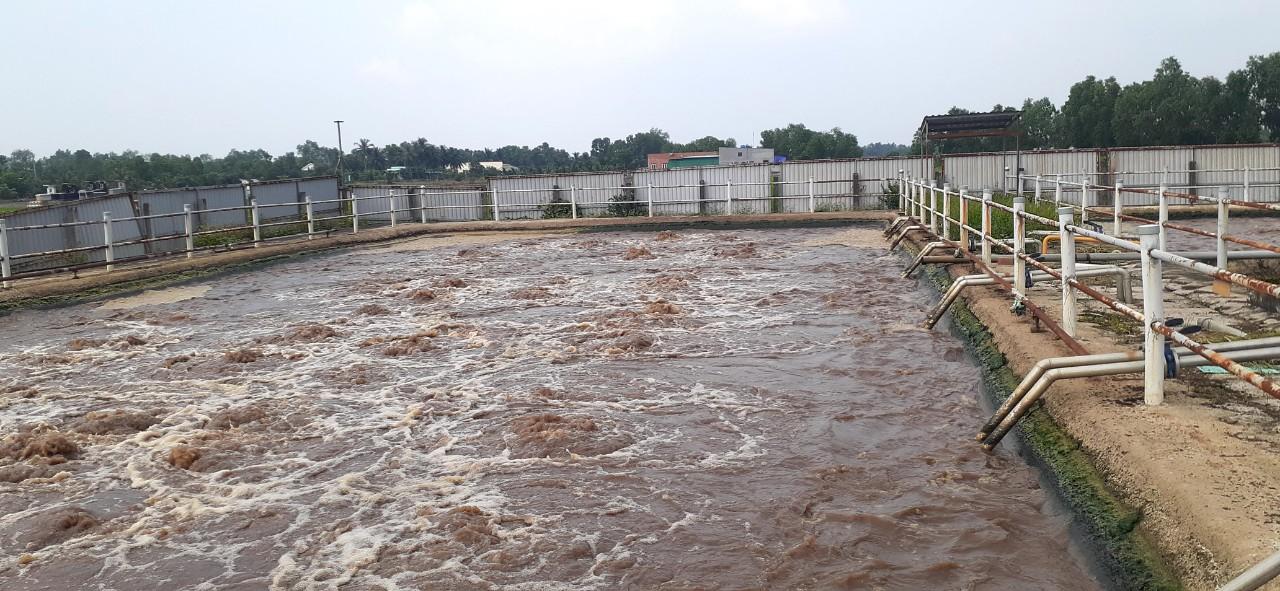 Vận hành hệ thống xử lý nước thải tại Bình Phước