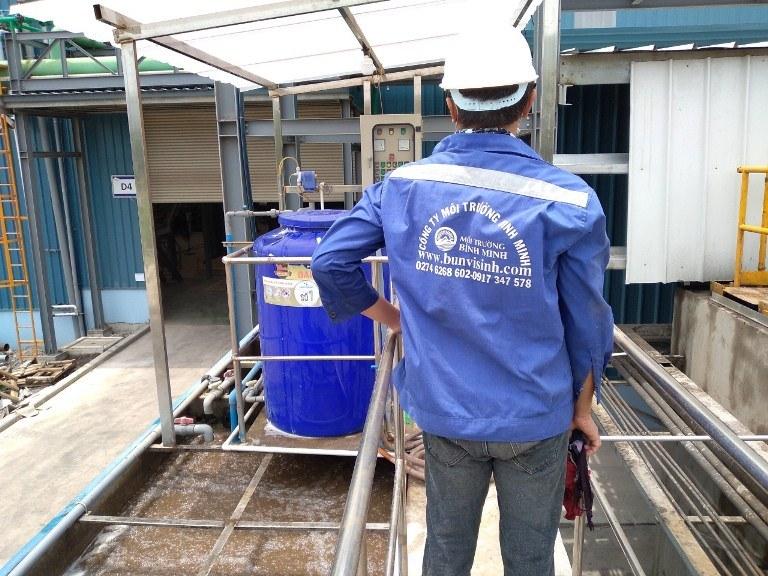 Báo giá hệ thống xử lý nước thải - Nhân sự khảo sát