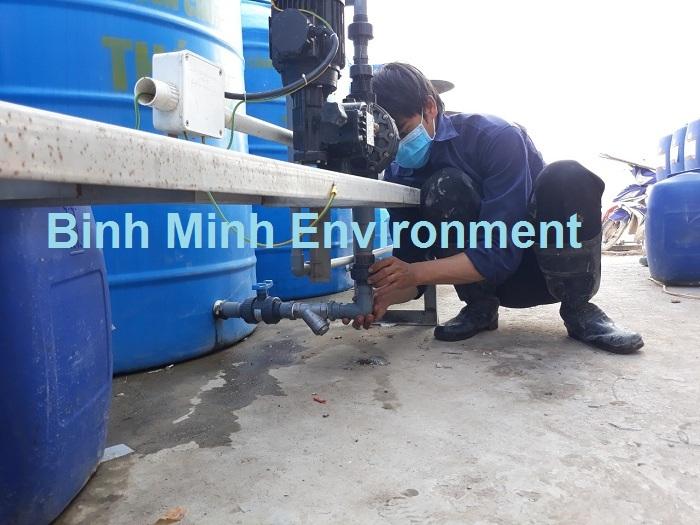 Bảo trì hệ thống xử lý nước thải - Kiểm tra bơm định lượng