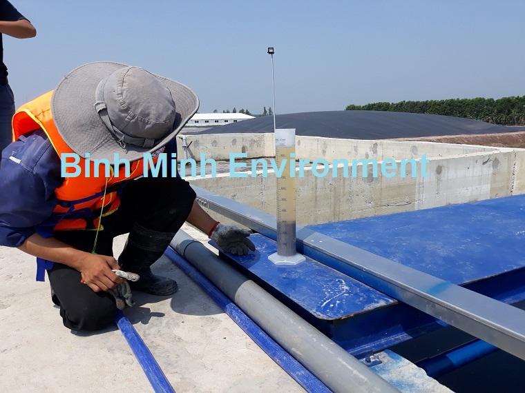 Hình 3. Vận hành bảo trì hệ thống xử lý nước thải sinh hoạt - Nhân sự vận hành hệ thống xử lý nước thải