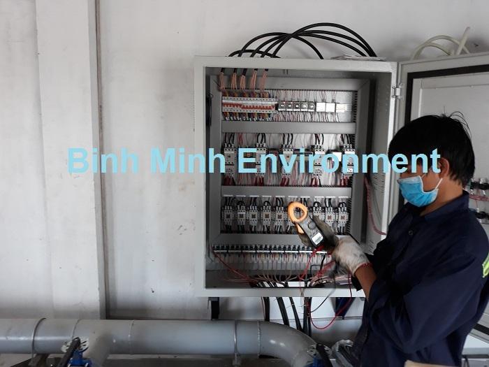 Bảo trì hệ thống xử lý nước thải - Do dòng điện hoạt động