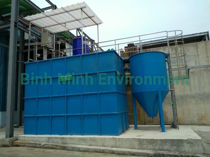 Cho thuê hệ thống xử lý nước thải - Hệ 25 m3