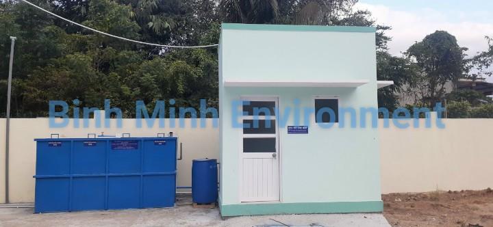 Xử lý nước thải trạm y tế - Trạm y tế Phước Chiến