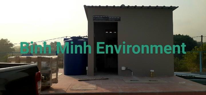 Hệ thống xử lý nước thải chợ CS 50 m3