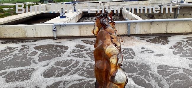 Hướng dẫn nuôi cấy bùn vi sinh hoạt tính - Bổ xung mật rỉ đường vào bể vi sinh hiếu khí