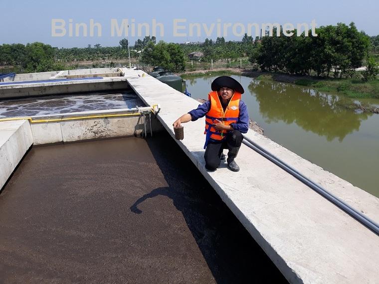 Vận hành hệ thống xử lý nước thải tại Dĩ An
