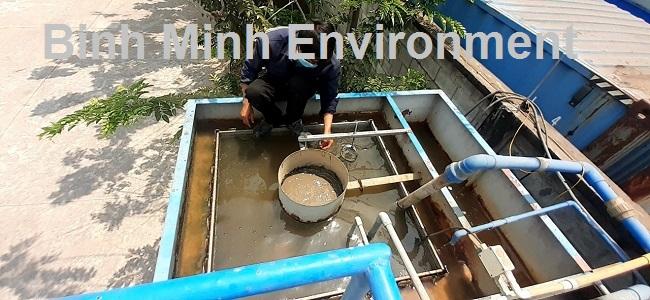 Hướng dẫn nuôi cấy bùn vi sinh hoạt tính - Chạy hệ thống tràn qua bể lắng vi sinh