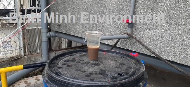 Hướng dẫn nuôi cấy bùn vi sinh hoạt tính - đo nồng độ bùn vi sinh đạt 40%