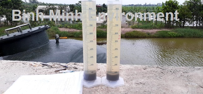 Cung cấp bùn vi sinh tại Hải Phòng - Bùn vi sinh giảm <10 %