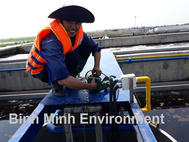 Hướng dẫn nuôi cấy bùn vi sinh hoạt tính - Vệ sinh bơm bùn tuần hoàn, van 1 chiều
