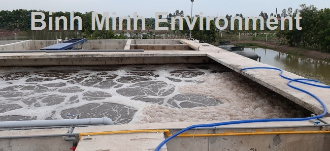 Hình 2. Hệ thống xử lý nước thải chăn nuôi tại gia lai sau hoàn thiện
