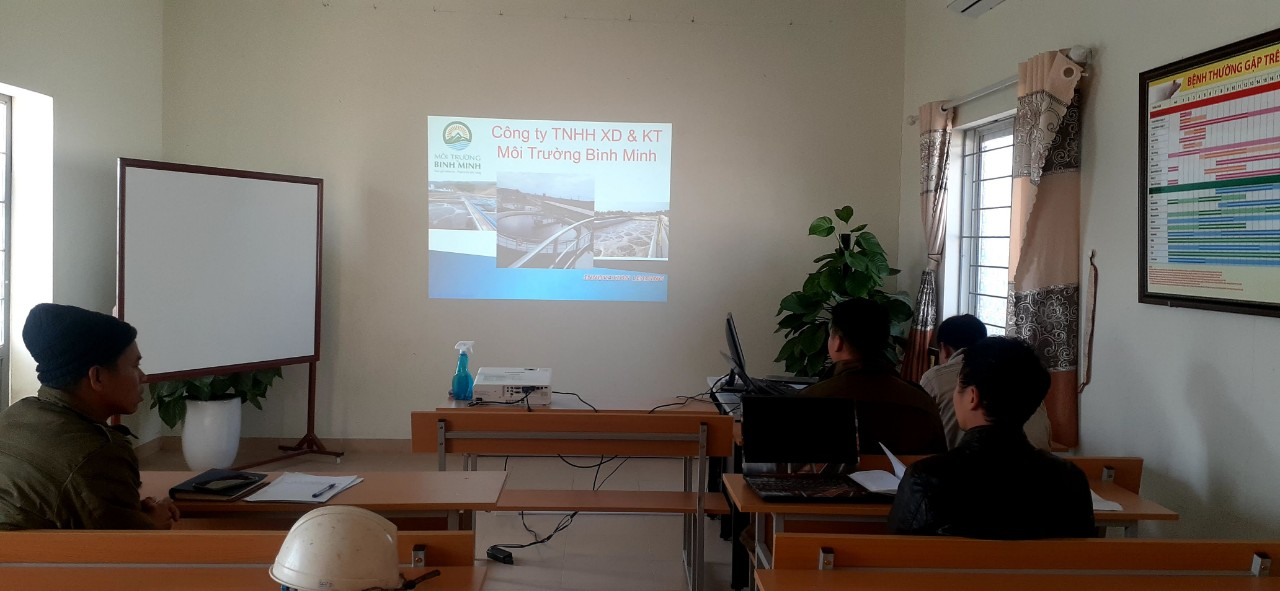 Bàn giao hệ thống xử lý nước thải - đào tạo vận hành