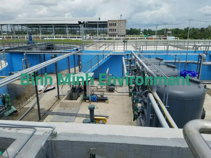 Vận hành hệ thống xử lý nước thải tại KCN Mỹ Phước- Hệ thống xử lý nước thải dệt nhuộm