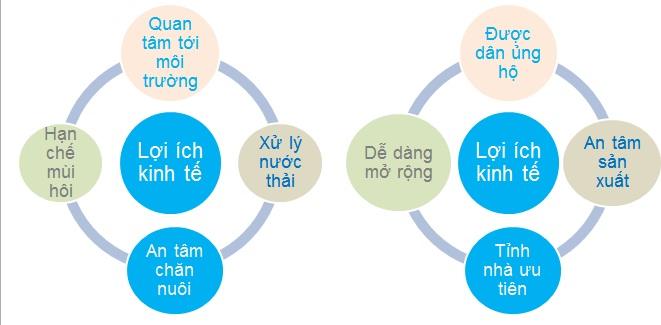 Infographic - Lợi ích kinh tế và môi trường khi xử lý nước thải chăn nuôi