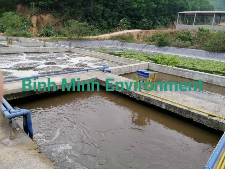 Cung cấp bùn vi sinh tại Thái Bình - Hệ thống vi sinh hoạt động tốt