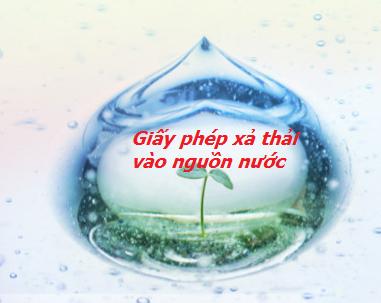 giay phep xa thai vao nguon nuoc